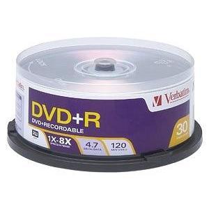 Verbatim DVD+RW Media 4.7GB 120mm Standard 94834