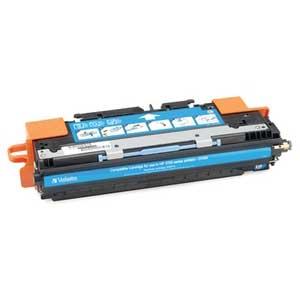 Verbatim Cyan Toner Cartridge For HP LaserJet 3700 Series Printers 6000 Page Cyan 95348