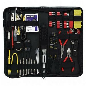 Fellowes 55-Piece Computer Maintenance Tool Kit Service Kit 49106