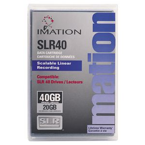 Imation SLR40 Tape Cartridge Data Cartridge SLR SLR40 20 GB Native-40 GB Compressed 615 ft 41112