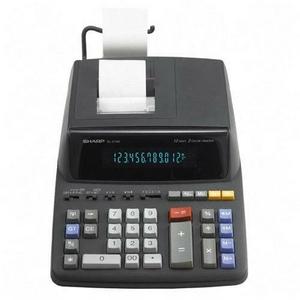 Sharp Printing Calculator 12 Characters Fluorescent EL2196BL