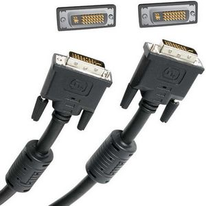 Startech DVI-I Dual Link Display Cable 6ft 1 x DVI-D Digital  1 x DVI-D Digital Cable Black DVIIDMM6