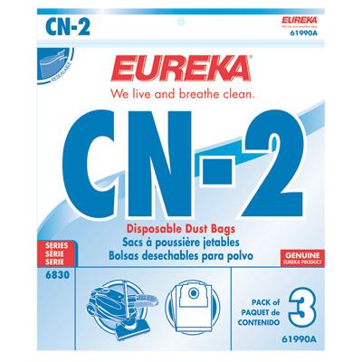 Eureka 61990A-6 Vac Accessories Cn-2 Bag for 6833B