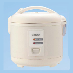 Tiger JAZA10U 5.5 Electronic Rice Cooker/Food Steamer