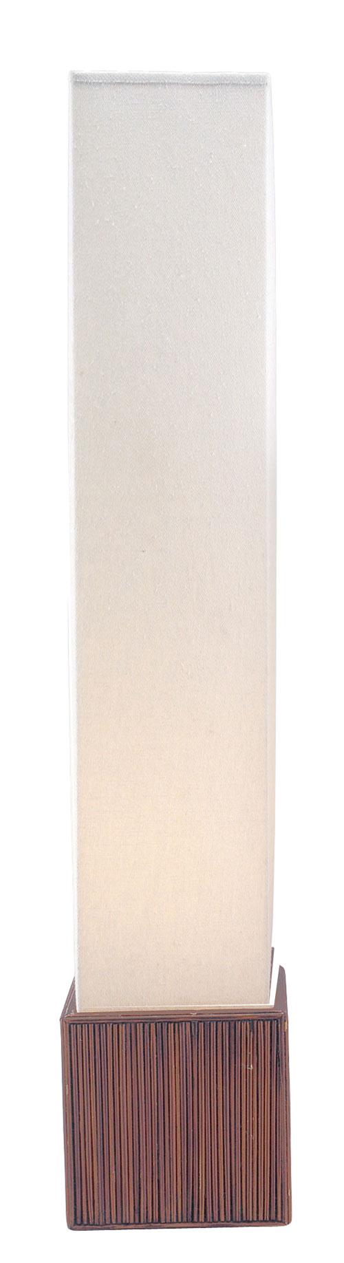 Adesso 3004 Sebu Floor Lantern Teak 14
