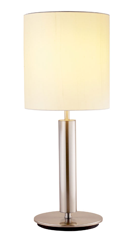 Adesso 4173 Hollywood Table Lamp Satin Steel 22