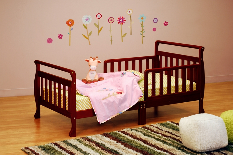 AFG Athena Anna Toddler Bed - Cherry - 7008C