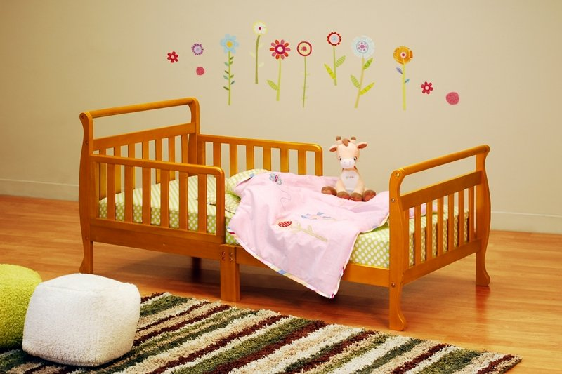 AFG Athena Anna Toddler Bed - Pecan - 7008P