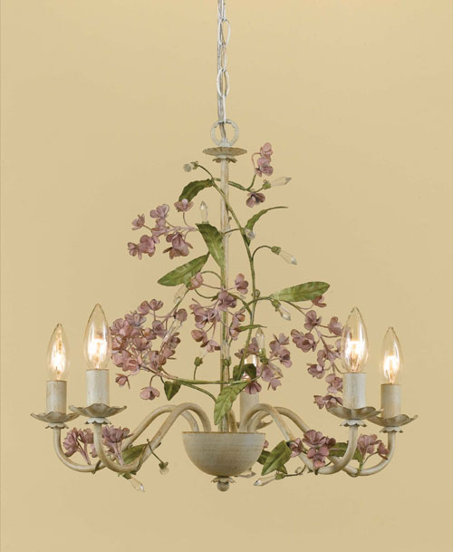 AF Lighting 7045-5H Grace Chandelier