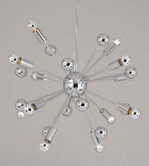 Image of AF Lighting 5695-12H Supernova Chandelier