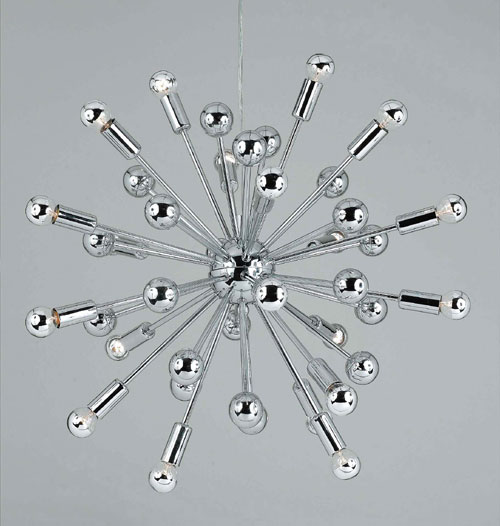 Image of AF Lighting 5694-20H Supernova Chandelier