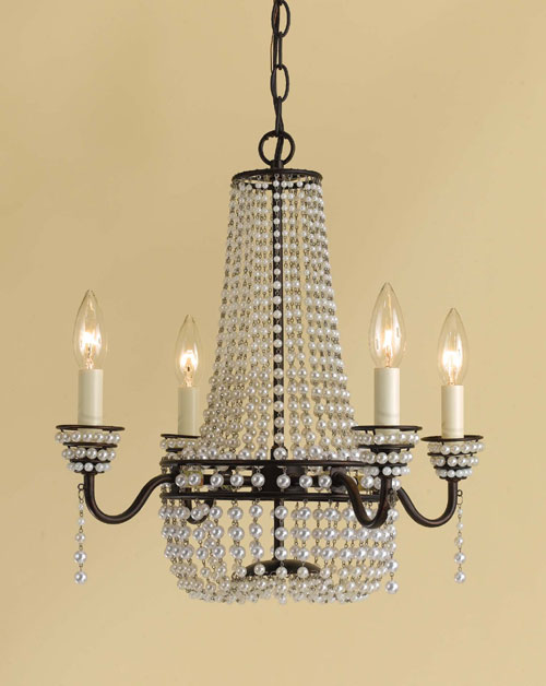 AF Lighting 7003-4H Parlor Mini Chandelier