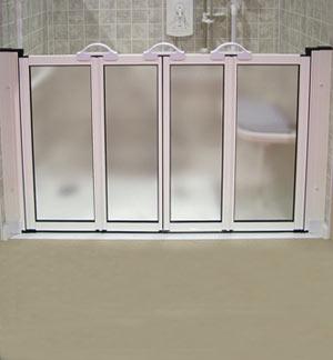 ARC Inc 15258 Shower Door Option N - 51.125 Inch W x 27.5 Inch L x 29.5 Inch H