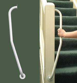 ARC Inc 01745L Newel Handrail v Left Hand 1.75 Inch Dia 28 Inch L