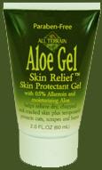 All Terrain 4006 Aloe Gel Skin Relief 2 oz. - 12 Pack