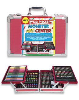 Alex Toys 57W Monster Art Center - 132 Pieces