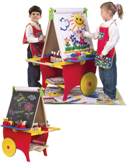 Alex Toys 721X Super Rolling Art Center
