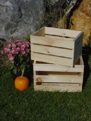 All Maine Bucket C5 Large Pine Crate