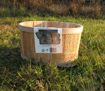 All Maine Bucket T527 13 x 7 Inch Tub