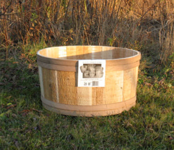 All Maine Bucket T613 21 x 11 Inch Tub