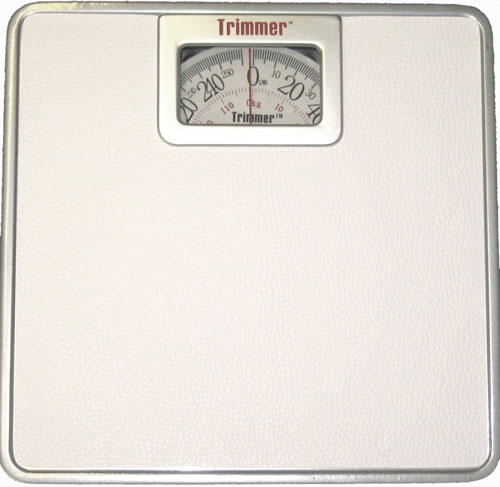 American Trading House SY-9801DS Silver Frame Scale with XL Display
