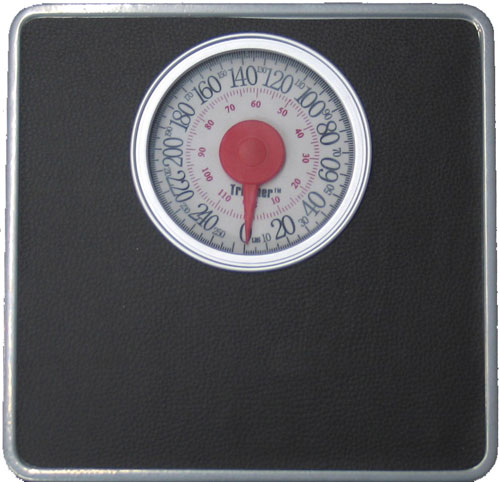 American Trading House SY-9801FS Silver Frame Scale with XL Display