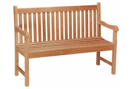 Anderson Teak BH-004S 4-Foot Straight Bench