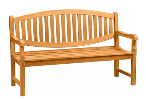 Anderson Teak BH-005O Kingston 3-Seater Bench