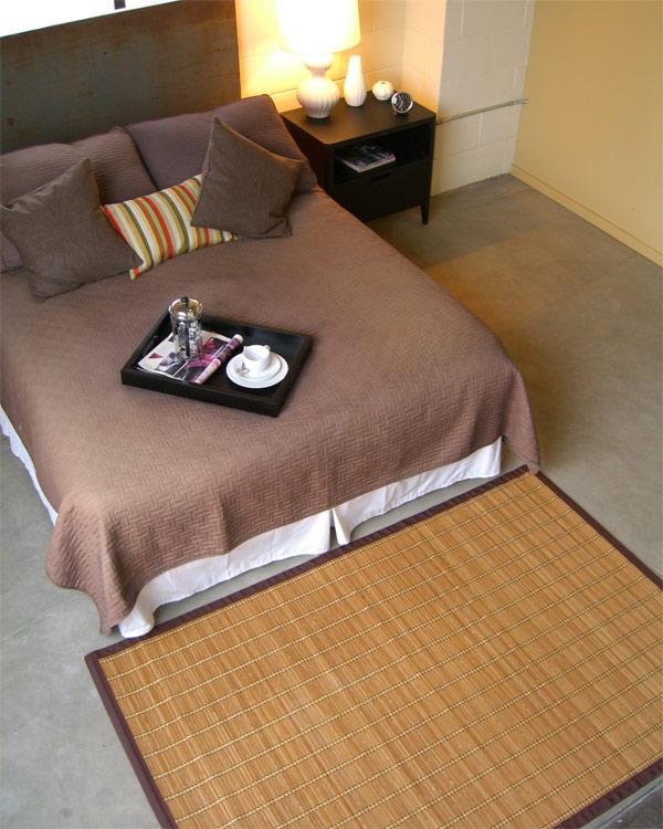 Anji Mountain AMB0020-0046 Pearl River Bamboo Rug 4 x 6
