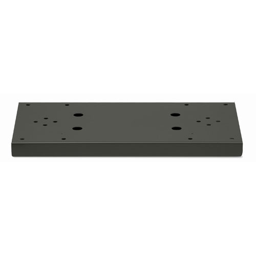 Architectural Mailboxes 5112B Duo Spreader for Standard Posts - For Coronado/Bellevue Add 2 Universal Adapter Plates - Item No. 5530 - Black