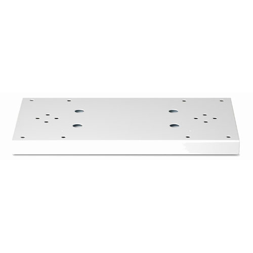 Architectural Mailboxes 5112W Duo Spreader for Standard Posts - For Coronado-Bellevue Add 2 Universal Adapter Plates - Item No. 5530 - White
