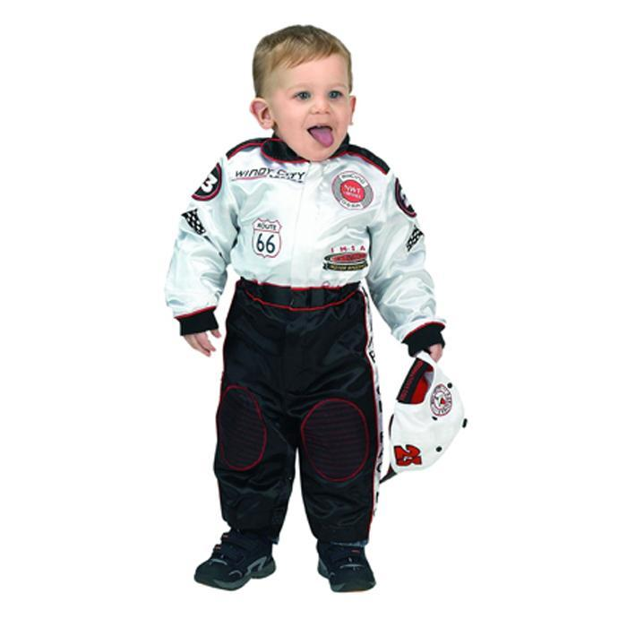 Racing Suits - Aeromax RSBW-18M Jr Champion Racing Suit With Cap Size 18Month