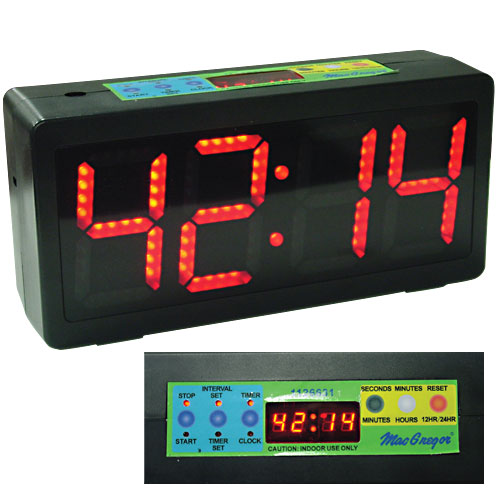 MacGregor 1126631 MacGregor Count Up/Down Clock