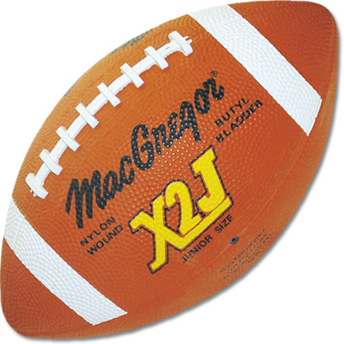 MacGregor MCX2JXXX MacGregor X2J Junior Football - Rubber