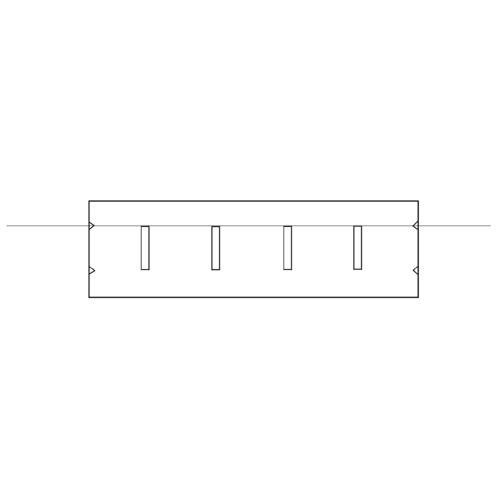 Collegiate Pacific 1162653 Hash Mark Guide