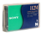 SONY QG112M Tape  8mm D8  112m  2.3-5-10GB