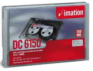 IMATION 46157 Ctdg  QIC .25 in. Data  DC6250  250MB