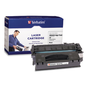 VERBATIM 95385 HP Q5949X Compatible Toner  High Yield LJ 1320 Series  6K yield