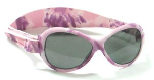 Retro Sunglasses - Baby Banz RBBOV021 Retro Banz Oval - Baby - Camouflage - Pink