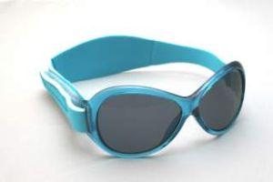 Retro Sunglasses - Baby Banz RBKOV008 Retro Banz Oval - Kidz - Aqua