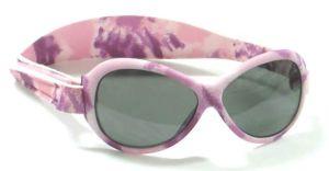 Baby Sunglasses - Baby Banz RBKOV021 Retro Banz Oval - Kidz - Camouflage - Pink