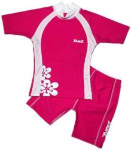 Baby Swimwear - Baby Banz BSPF02 Shorts Pink/White Size 2