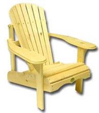 Bear Chair BC201P Pine Bear Chair Kit