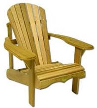 Bear Chair BC201C Cedar Bear Chair Kit