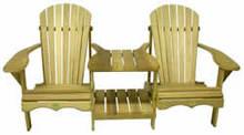 Bear Chair BC900P Pine Tete-a-tete Kit