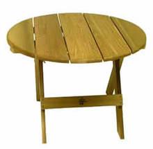 Bear Chair BC02C Cedar  28 Inch Folding Side Table