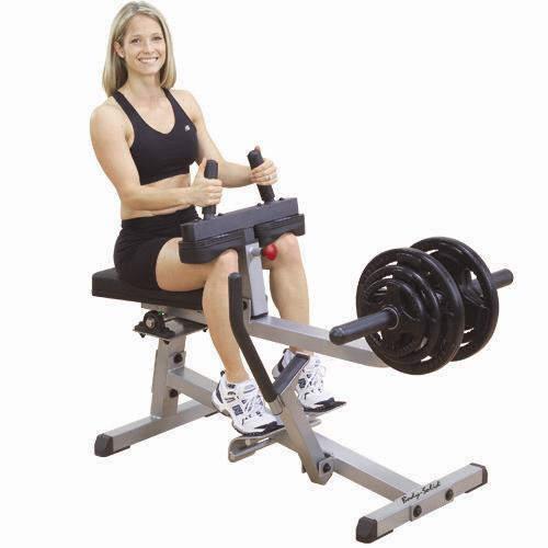 Body Solid GSCR349 Seated Calf Raise Machine