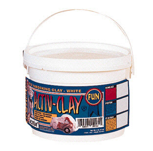Image of ACTIVA PRODUCTS API164 ACTIV-CLAY WHITE 10 LB.
