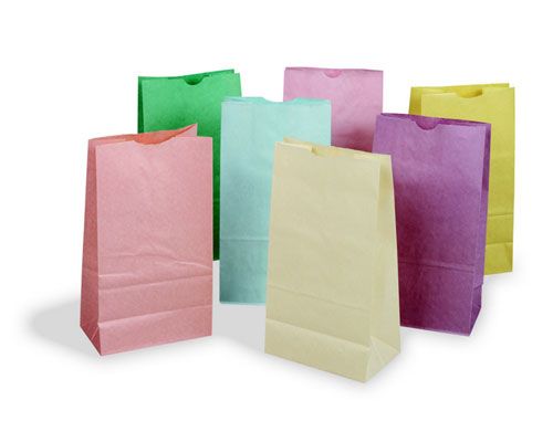 PACON CORPORATION PAC72130 PASTEL RAINBOW BAGS EDRE398