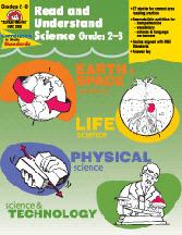 EVAN-MOOR EMC3303 READ AND UNDERSTAND SCIENCE GR. 2-3 EDRE4157